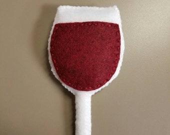Catnip Wine Glass Toy