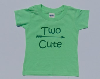 Two Cute - Second Birthday Shirt