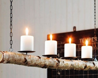Hanging Candle Chandelier