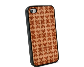 x v x v  Wooden iPhone 4/4S Case for iPhone 4/4S Case