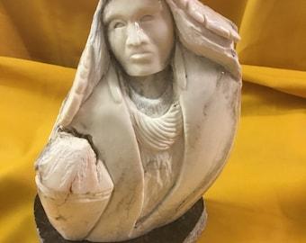 Athentic Navajo Alabaster Sculpture