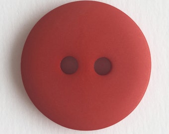 Crimson Hand Dyed Buttons (in 14 sizes!)