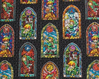 Zelda Fabric BTY BTHY Link Fabric Gaming Fabric Cotton Fabric Craft Fabric Apparel Fabric Quilting Fabric By The Yard Fabric