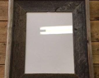 """8""""x 10"""" Barnwood frame"""