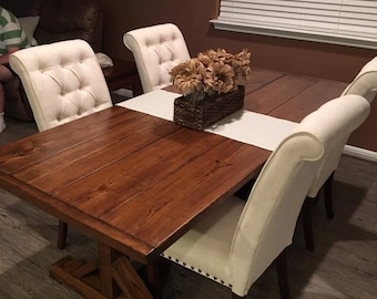Custom Farmhouse Dining Table