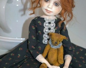 "Art Doll OOAK Varya 14"" by Olga Schlegel"