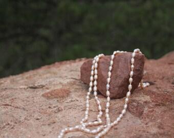 Hawaiian Baroque Pearl Necklace