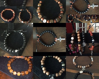 Hand made jewelry for the Women, Men, Teens, and Children