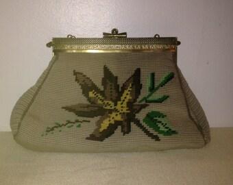 Vintage Carpet Bag Handbag