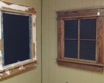 Chalkboard Windows