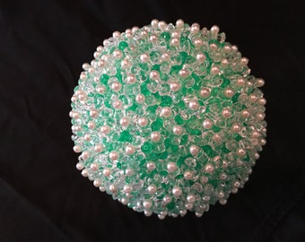 Beaded accent ball