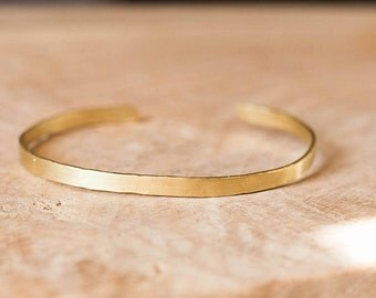 Handcrafted Brass Bracelet