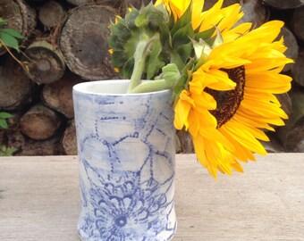Large Doily Vase