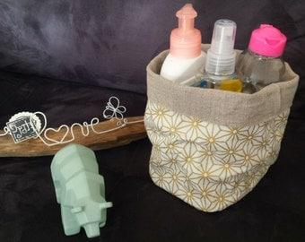 Cart, empty pocket, linen & cotton basket