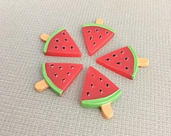 Watermelon cabochons