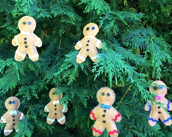 Six Gingerbread Men