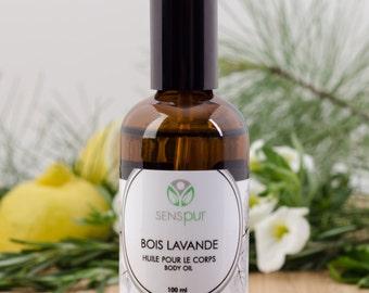 WOOD Lavender body oil