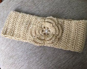 Neutral Knitted Headband