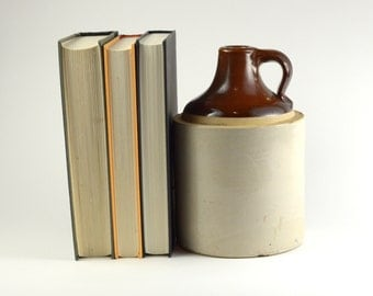 Clay Whiskey Jug
