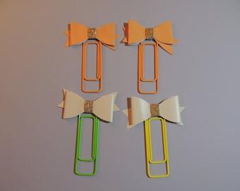 Bow Jumbo Paper Clips