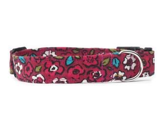 Molly Floral Dog Collar