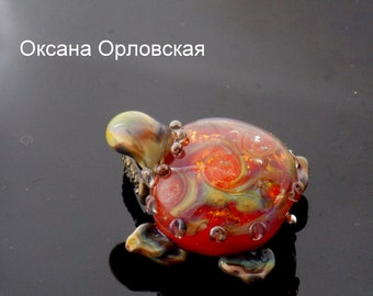 Кулон Зоогалактика черепашка