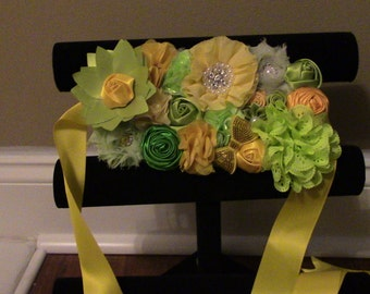 Hand made maternity sash