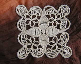 Antique lace doily handmade