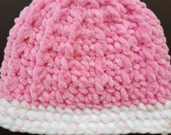Handmade super soft crochet hat