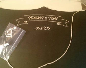 Personalized Chalkboard Wedding Gift