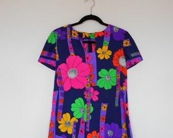 Vintage 60's Floral Top