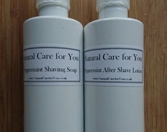 Shaving Soap and After Shave lotion