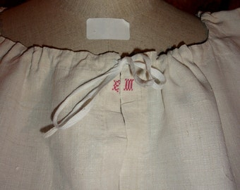 Old linen shirt rustic creations