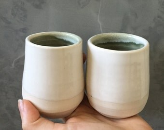 Two little porcelain cups