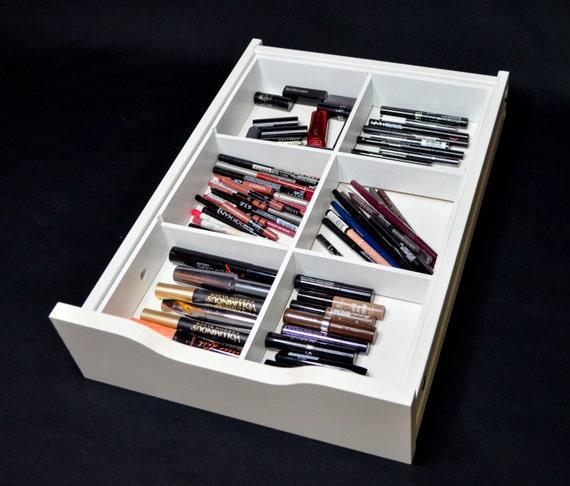 alex 9 six divider drawer insert 6 divider makeup organizer. Black Bedroom Furniture Sets. Home Design Ideas