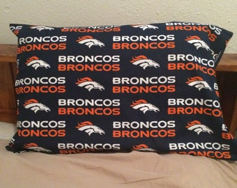 Denver Broncos Pillow Case, Broncos Fan, Broncos Gift