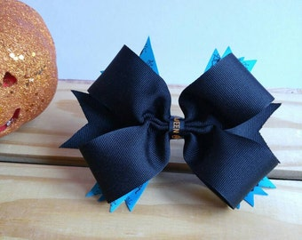 Halloween Hair Bow - Spider Hair Bow - Halloween - Halloween Accessories - Adult Bows - Childs Bow - Costume Accessories - Gift Idea - Black