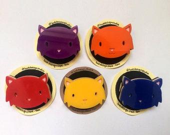 Curious Cat Badge