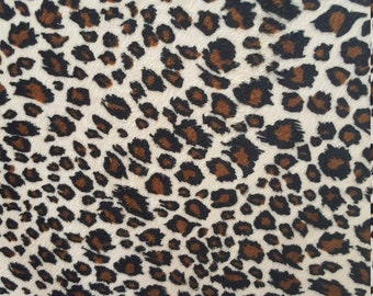 Velboa S-Wave Fabric Prints By The Yard -  Puma (W2)
