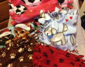 Fleece Pet Blankets, Baby Binkys