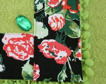 Terry beach towel green-Portofino