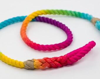 Classic Rainbow 4ft Leash