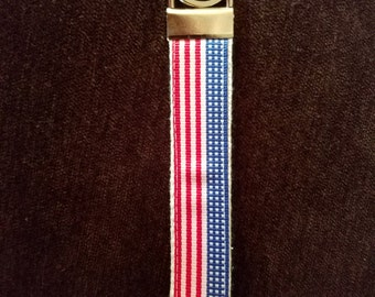 Key Fob Wristlet- USA 01