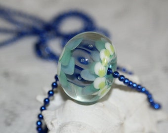 Lampwork beads, glass beads, artisan beads, big beads, handmade glass beads,