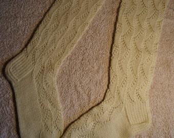 Soft knitted ladies/girls socks
