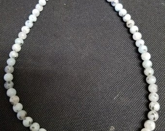 Jasper bead necklace