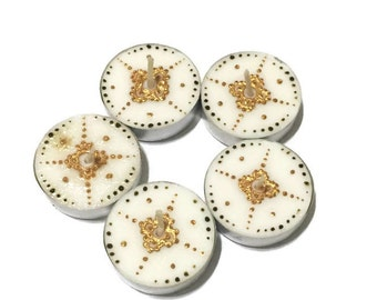 Henna Tealights- Set of 6