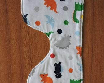 Dinosaur Baby Boy Burp Cloth