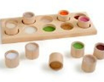 Tactile memory-wooden toys