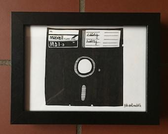 80s Series: Floppy Disk